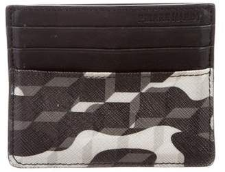 Pierre Hardy Printed Leather Cardholder