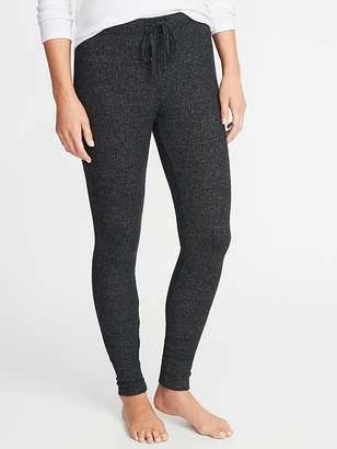 Old Navy Plush-Knit Lounge Leggings for Women