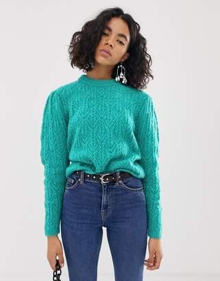 Asos (エイソス) - Asos Design ASOS DESIGN chunky sweater with stitch detail