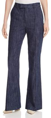 Joie Sylvana Denim Flare-Leg Pants