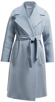 Max Mara S S Dada Coat - Womens - Light Blue