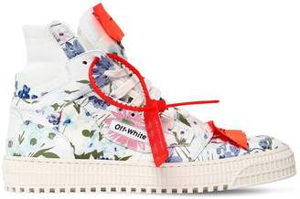 Off-White 20mm Low 3.0 Floral Leather Sneakers