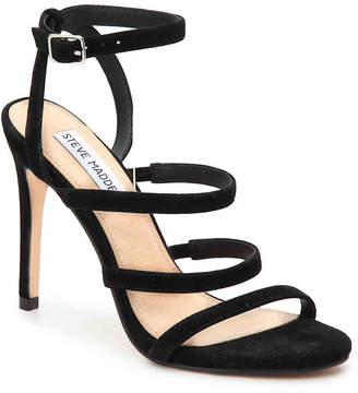f10bdfbad12 Steve Madden Black Cushioned Footbed Women s Sandals - ShopStyle