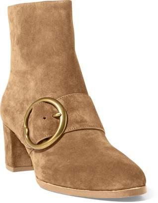 Ralph Lauren Maddie Suede Ankle Boot