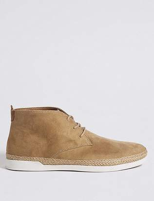Marks and Spencer Faux Suede Lace-up Chukka Boots