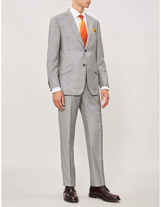 Richard James Tailored-fit wool and cashmere-blend suit