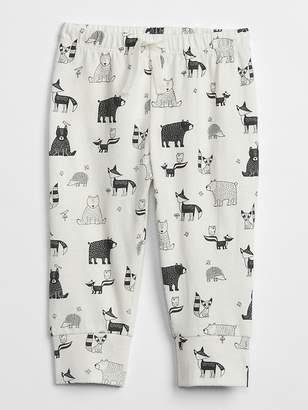 Gap Organic Print Pull-On Pants
