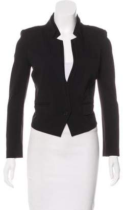 Karl Lagerfeld by Notched-Lapel Long Sleeve Blazer