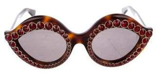 Gucci 2017 Crystal Sunglasses