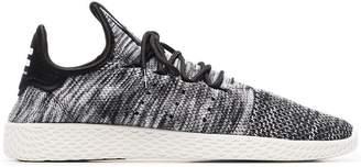 adidas Black And Grey X Pharrell Williams Tennis HU Sneakers