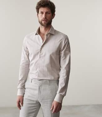 Reiss Geno Windowpane Checked Shirt