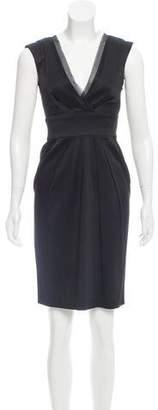 Philosophy di Alberta Ferretti Sleeveless Knee-Length Dress