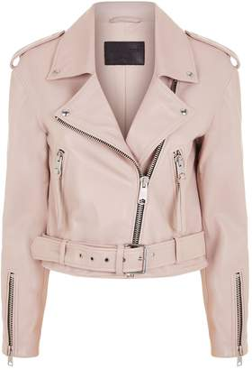 AllSaints Anderson Leather Biker Jacket