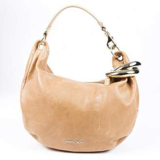 Chloé Pre-Loved Brown Beige Others Leather Paraty Satchel France