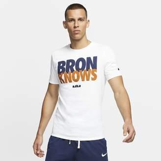 Nike Men's T-Shirt LeBron 'Bron Knows'