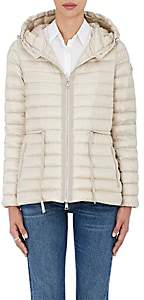Moncler Women's Raie Down-Quilted Hooded Coat - Champagne