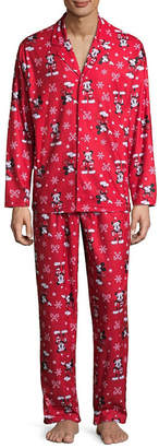 Disney Mickey/Minnie 2 Piece Pajama Set -Men's