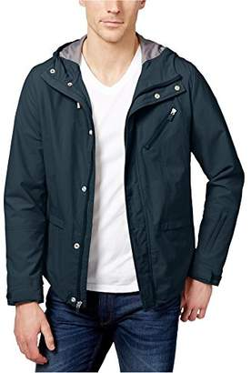 Kenneth Cole Reaction Men's Lightweight Crinkle Nylon Jacket