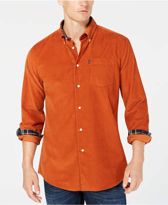 Barbour Men's Abbleby Corduroy Shirt, A Sam Heughan Exclusive, Created for Macy's
