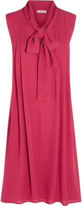Tomas Maier Silk-georgette Dress