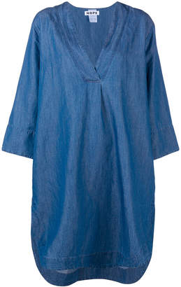 Hope denim tunic dress
