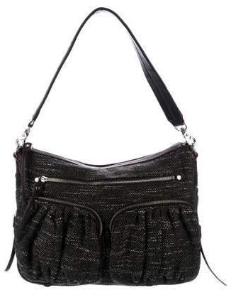 MZ Wallace Leather-Trimmed Shoulder Bag