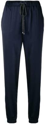 Fabiana Filippi tapered track trousers