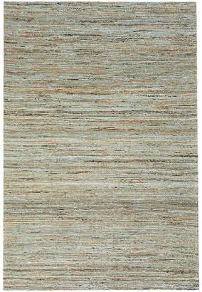 Jaipur Dotts Rugs Silver Flat Weave Rug