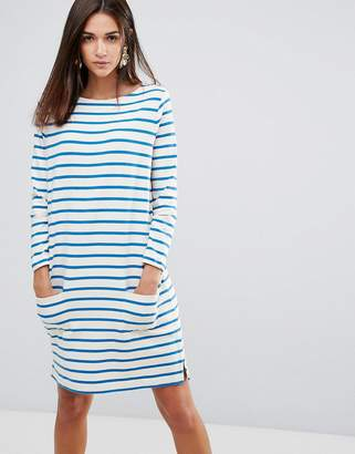 YMC Breton Stripe Shift Dress