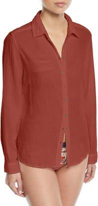 Xirena Scout Cotton Lounge Shirt