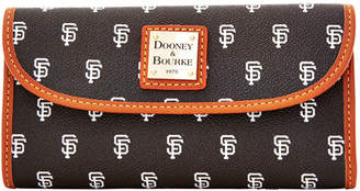 Dooney & Bourke MLB Giants Continental Clutch