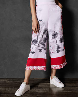 Ted Baker ALANYA Lake of Dreams printed culotte