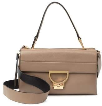 Coccinelle Leather Convertible Mini Portfolio