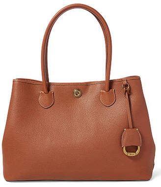 Ralph Lauren Leather Market Tote