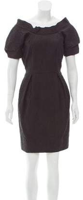 Thakoon Textured Mini Dress