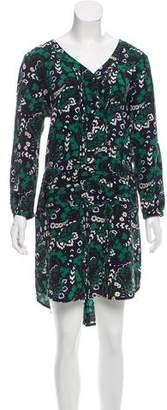 Veronica Beard Silk Printed Dress