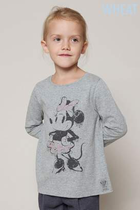 Next Girls Wheat Bambi Long Sleeve Top