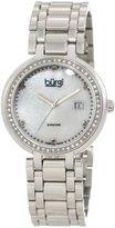 Burgi レディースbu55ss Swiss Quartz Diamond Bracelet Watch