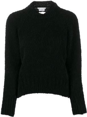 Cecilie Bahnsen open back knitted jumper