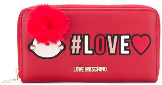 Love Moschino Love zipped wallet
