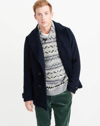Abercrombie & Fitch Classic Peacoat