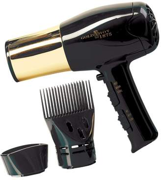 Gold'n Hot Euro Style Hair Dryer with Gold Barrel & Styling Pik