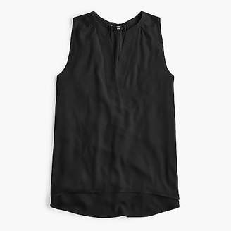 J.Crew Sleeveless open V-neck top
