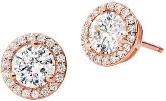 Michael Kors Crystal Halo Stud Earrings