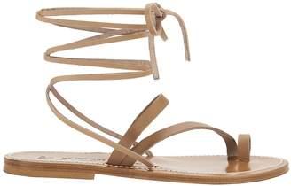 K. Jacques Ellada Ankle Wrap Sandals