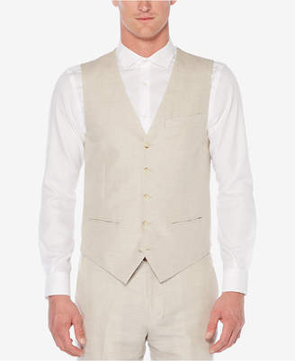 Perry Ellis Men's Linen Vest