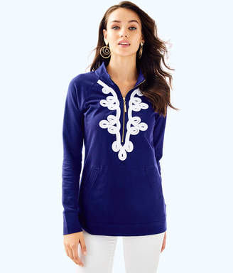 Lilly Pulitzer Womens UPF 50+ Skipper Tunic Popover