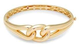 Roberto Coin Yellow Gold Double Knot Bangle