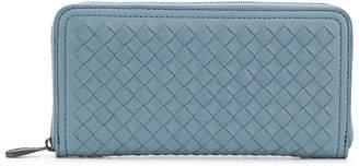 Bottega Veneta Intrecciato zip-around wallet