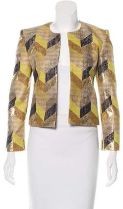 Sass & Bide Metallic Tweed Jacket
